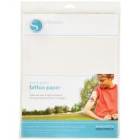 Silhouette Tattoo Papier