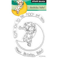 Clear Stamp BIRTHDAY BABY