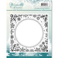 Prägeschablone Winter Frame