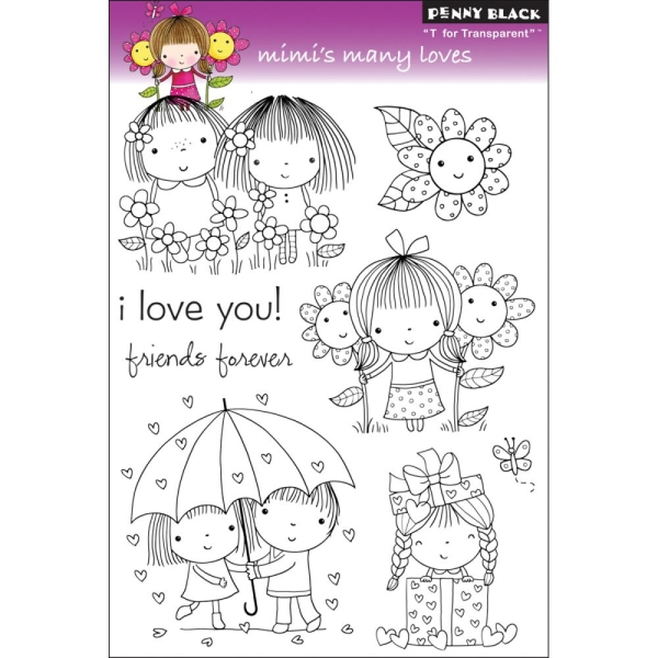 Clear Stamp Set Mimis Many Loves