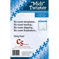 Midi Twister Schablone für Twister Quilts
