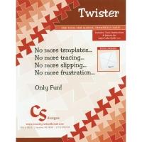 Twister Schablone für Twister Quilts