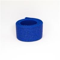 Polygurtband, 32mm (1,25 inch), glitter royalblau