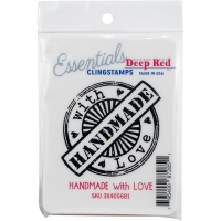 Cling Stempel Handmade With Love