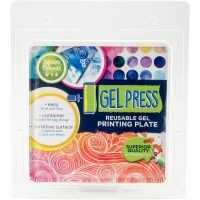 Gel Press Platte 15x15 cm