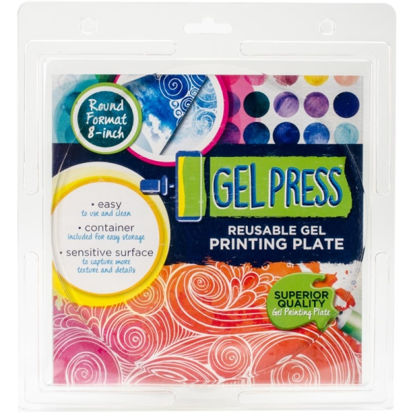 Gel Press Platte rund 20 cm