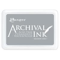 Stempelkissen Ranger Archival Ink - Shadow Grey