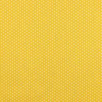 Baumwollpopeline Mikrosterne gelb