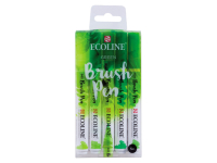 Ecoline Brush Pen Set GREEN