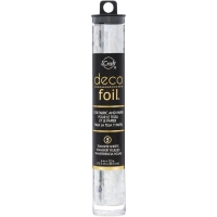 Deco Foil Folie Silver Shattered Glass 15cm