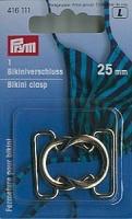 Prym Bikini Verschluss 25mm Schlinge silber