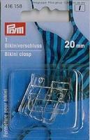 Prym Bikini Verschluss 20mm transparent