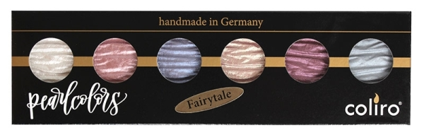 FINETEC Malkasten 6-er Set FAIRYTALE