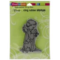 Cling Stempel Birdie Cherub