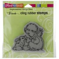 Cling Stempel Bunny Cherub