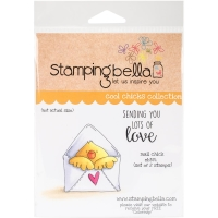 Cling Stempel Mail Chick