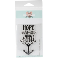 Clear Stamp Hope Anchors