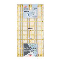 Prym Patchwork Lineal, Einteilung cm, 15x30 cm