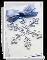 Birch Press Design - Glitz Snowflake Layer Craft Die Stanze