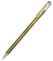 Pentel Hybrid Roller Gel Dual Metallic gold