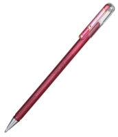 Pentel Hybrid Roller Gel Dual Metallic pink/pink