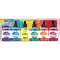 Color Burst Liquid Watercolor Brights 6-er Pack