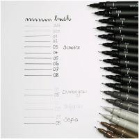 Uniball Fineliner Sepia Pin 05