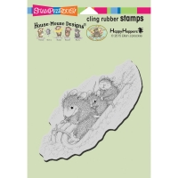 Stampendous Cling Stempel - Peppermint Sledding