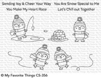 My favorite things Clear Stamp - Snow Special
