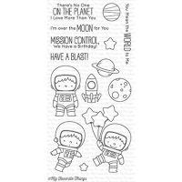 My favorite things Clear Stamp - Space Explorer