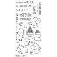 My favorite things Clear Stamp - Happy Hippos