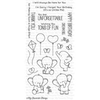 My favorite things Clear Stamp - Adorable Elephants