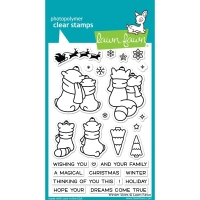Lawn Fawn Clear Stamps Winter Skies