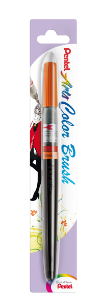 Pentel Color Brush Aquarellpinselstift Orange