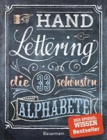 Buch - Handlettering, die 33 schönsten Alphabete