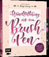 Buch - Handlettering mit dem Brush Pen - Inkl. 1x Tombow...
