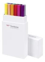 Tombow ABT Dual Brush Pen 12er Set Primärfarben