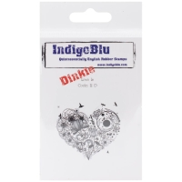 Cling Stempel Love is Dinkie