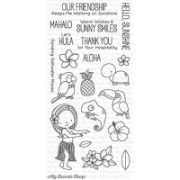 My favorite things Clear Stamp - Polynesian Paradise