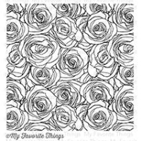 My favorite things Cling Stamp - Roses All Over Hintergrund