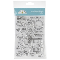 Doodlebug Stamp Set Oh! Boy