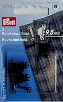 Prym Hosen-/Rockhaken 9.5mm schwarz