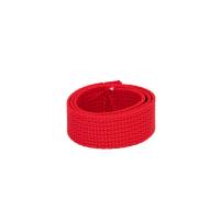 Poly Gurtband 20mm Rot