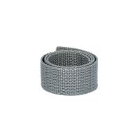 Poly Gurtband 20mm Hellgrau