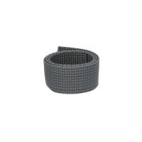 Poly Gurtband 20mm Dunkelgrau