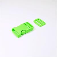 Steckverschluss mit Versteller für 25mm Band -...