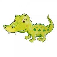 Safuri Bügelbild Krokodil