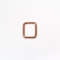 Quadrat-Ring 20 oder 25mm Band - Rosegold