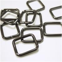 Quadrat-Ring 20 oder 25mm Band - Gunmetal