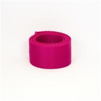 Feines Poly Gurtband 30mm breit, pink